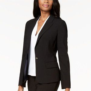 Calvin Klein Single-Button Stretch Blazer Size 12